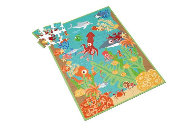 Scratch 100 delige puzzel Oceaan