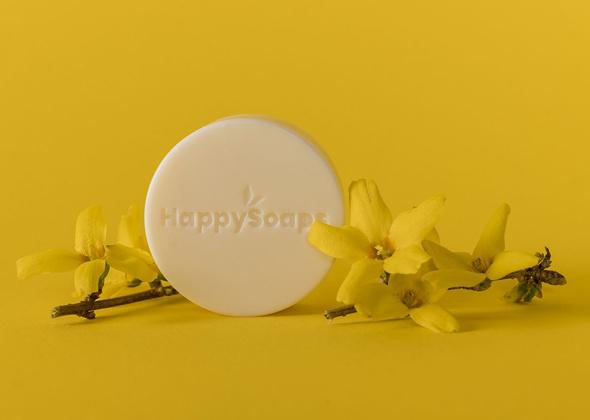 HappySoaps Body Lotion Bar Exotic Ylang Ylang
