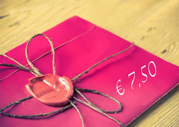 Kadobon € 7,50