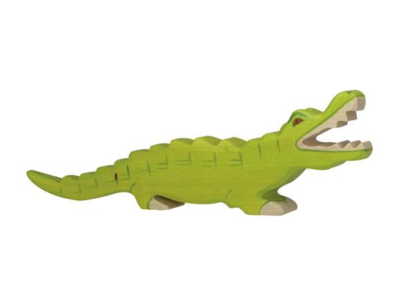 Holztiger Krokodil 80174