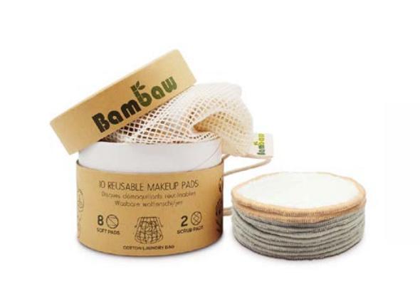 BamBaw Wasbare Wattenschijfjes 10 st