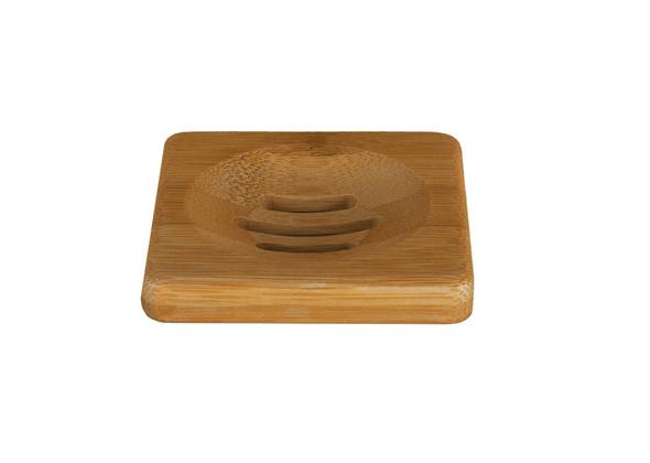 HappySoaps Zeep Plankje Bamboe - voor 1 Bar-Zeep