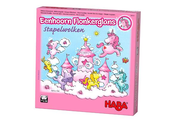 Haba -  Eenhoorn Flonkerglans Stapelwolken