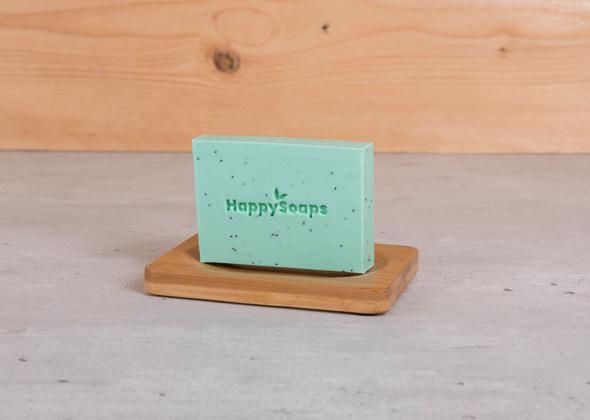 HappySoaps Body Bar Tea Trea Peppermint