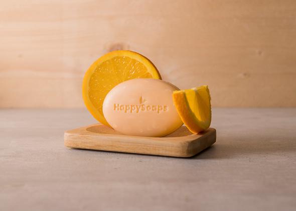HappySoaps Gezichtsreiniger Sinaasappel