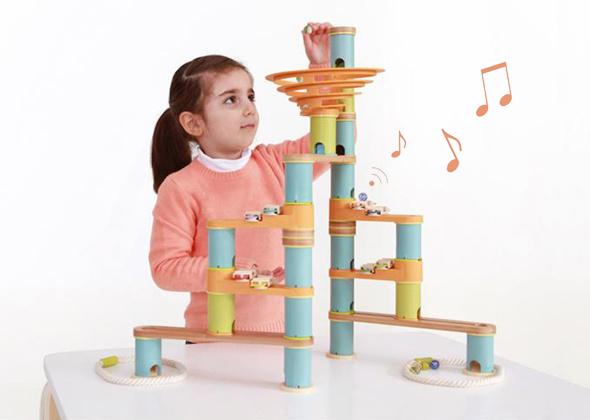 Bamboo Planet Knikkerbaan Musical