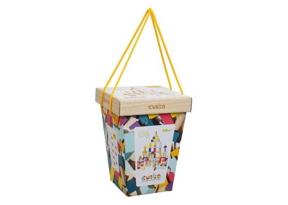 Cubika Blokkenset 100 st