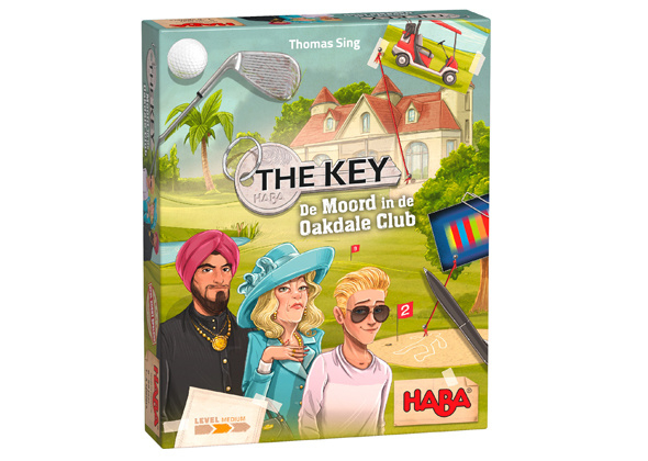 Haba -  The Key - De moord in de oakdale club