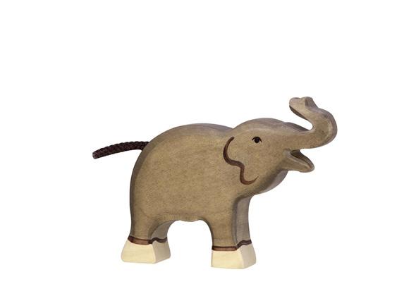 Holztiger Olifant klein 80150