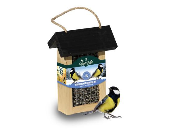 Vogel-buffet Koolmezen en Pimpelmezen