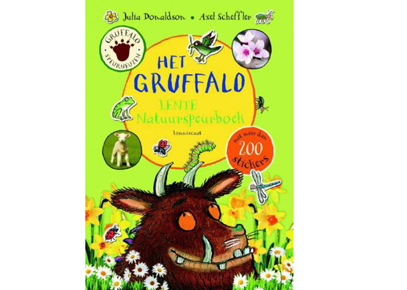 Gruffalo Natuurspeurboek Lente
