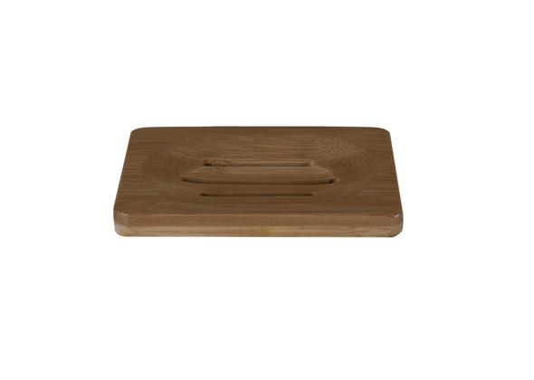 HappySoaps Zeep Plankje Bamboe - voor 2 Bars-Zeep