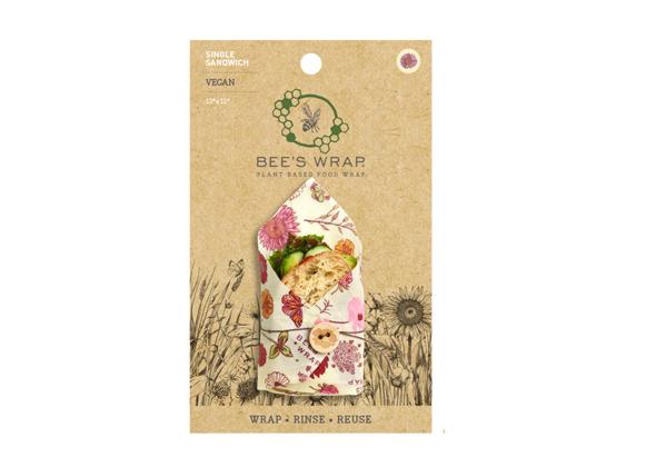Bee's Wrap Sandwich Meadow Magic Vegan