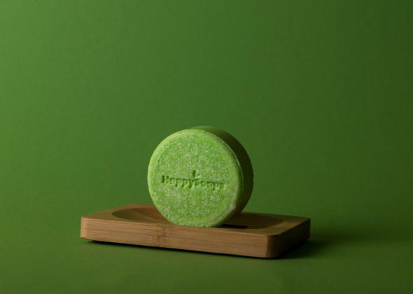HappySoaps Shampoo Bar Tea-Riffic