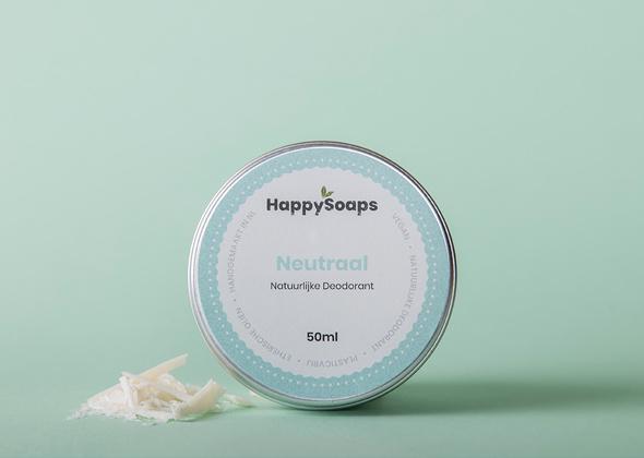 HappySoaps Natuurlijke Deo Neutraal