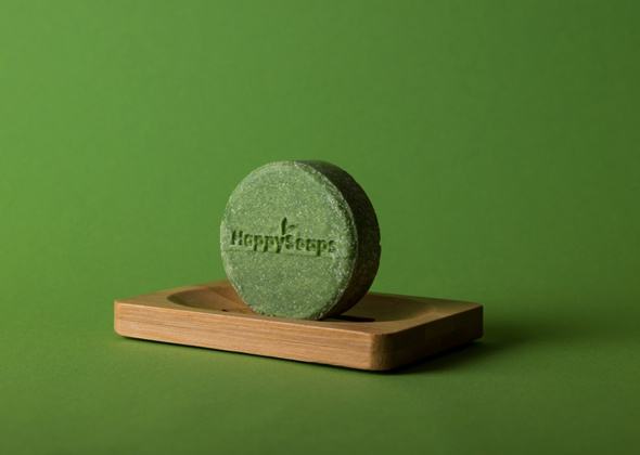 HappySoaps Shampoo Bar Aloe You Vera Much