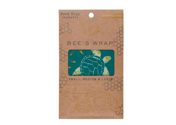Bee's Wrap 3-pack Ocean