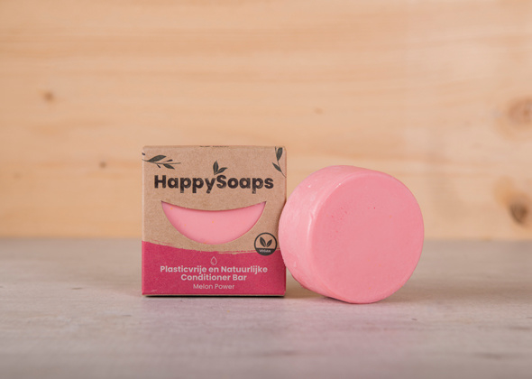 HappySoaps Conditioner Bar Melon Power