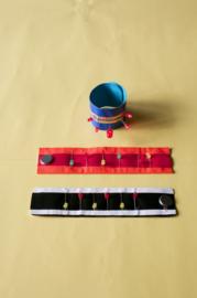 Materiaal voor 30, 60 of 90 LED-armbanden