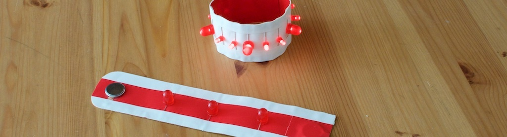 Ajax-versie LED-armband