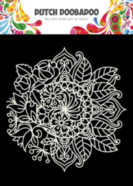 Dutch Doobadoo Mask Art 15x15cm Mandala met Bloem