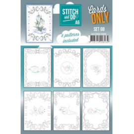 Stitch and Do Cards Only A6 set 08