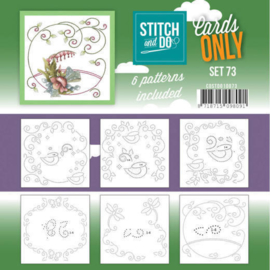 Stitch and Do Cards Only set 73