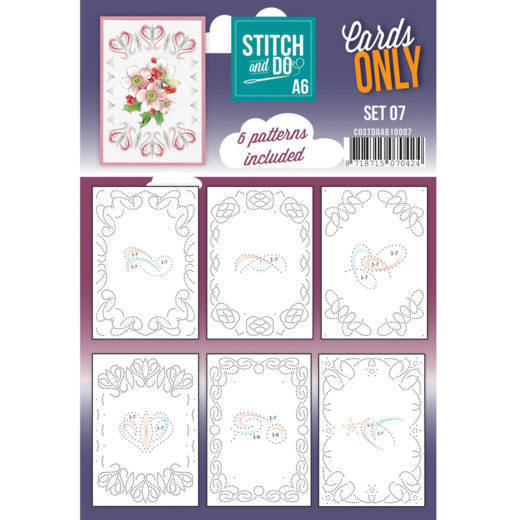 Stitch and Do Cards Only A6 set 07
