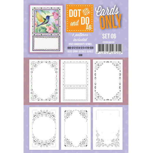 Dots and Do Cards Only A6 set 06
