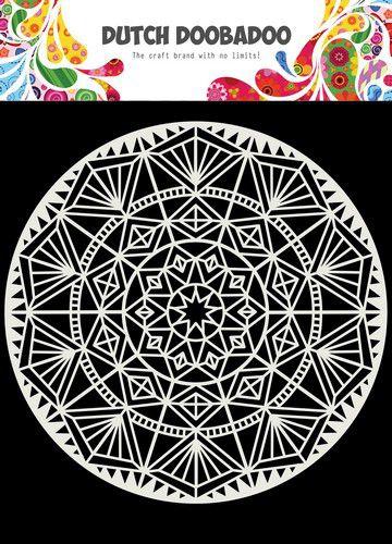 Dutch Doobadoo Dutch Mask Art 15x15cm Mandala