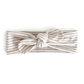 Haarband  STRIPE beige