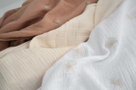 Hydrofiele Swaddle S - GINKGO embroidery
