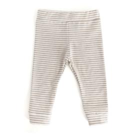 Legging STRIPE dark beige