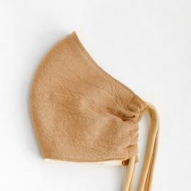 mondkapje CAMEL, gewassen katoen