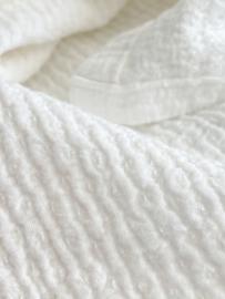 Babydoek CRINKLE - off white