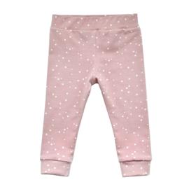 Legging SPOTS old pink