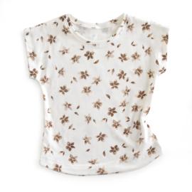 shirt FLOWERS BROWN