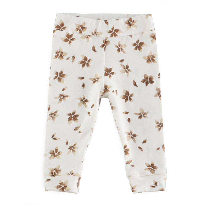 Legging FLOWERS BROWN