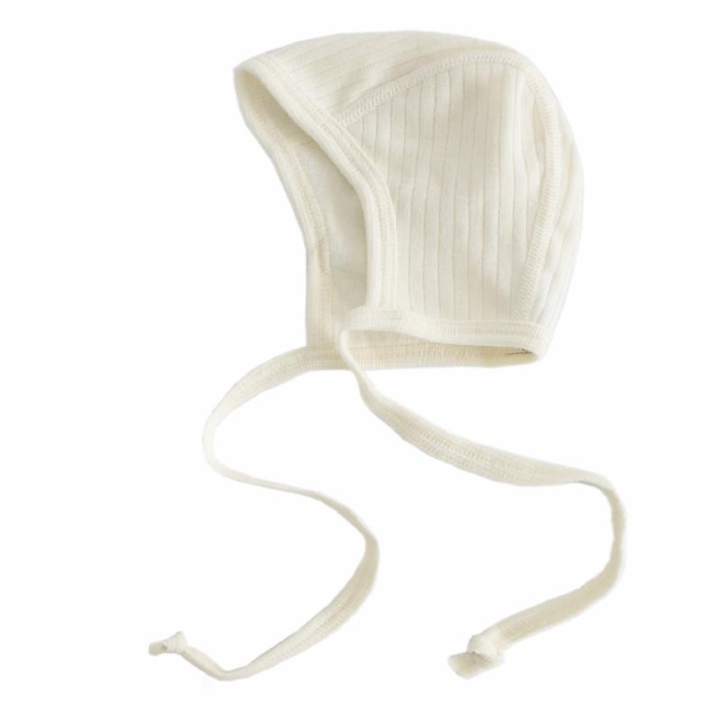 Bonnet wool/silk/cotton NATURAL