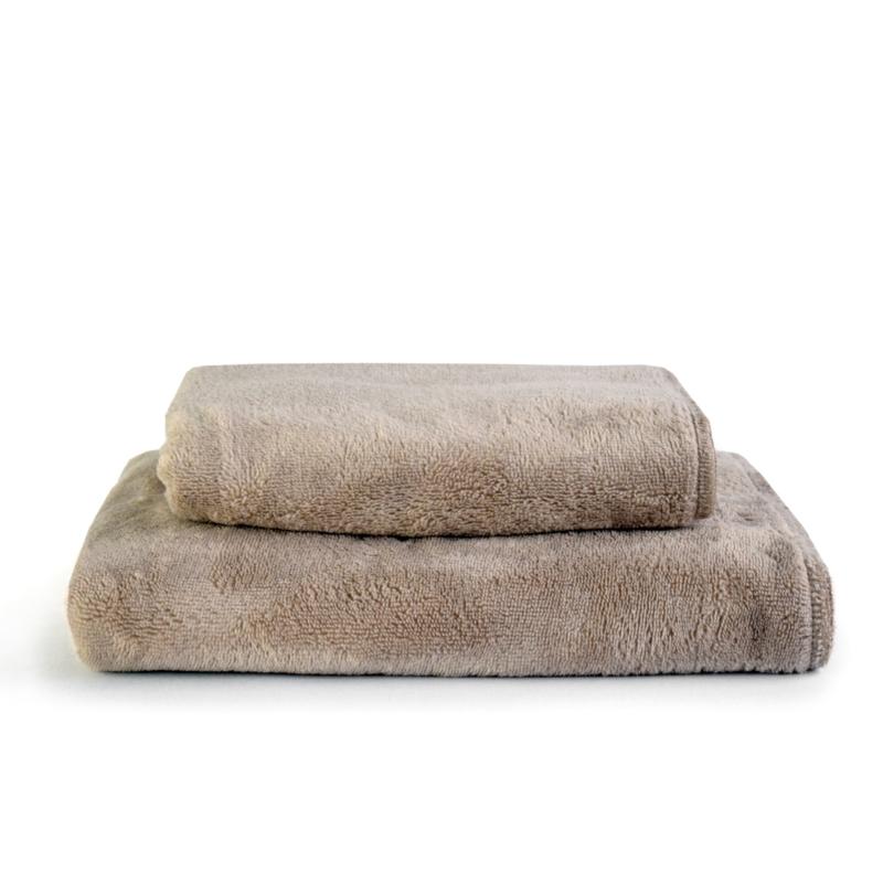 Bamboo fleece-deken CLAY