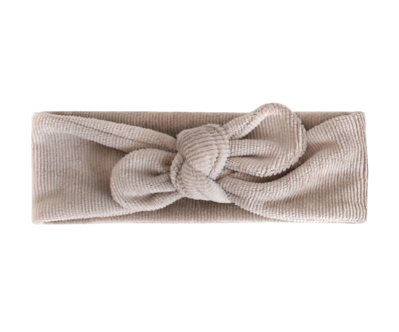 Haarband  RIBVELOURS, taupe