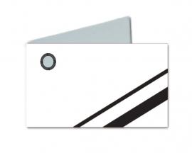 Naamkaartjes Wit+zwart