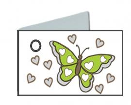 Naamkaartjes vlinder