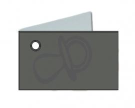 Naamkaartjes Effen grijs+grijze fopspeen 8 pakjes 32st
