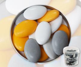 Suikerbonen geel mix emmer 450 gr