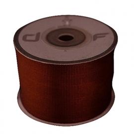 Grosgrain lint Bruin 38mm-10m