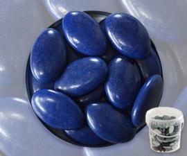 Suikerbonen marine blauw emmer 450 gr