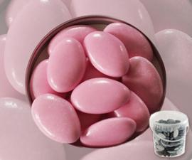 Suikerbonen roze emmer 450 gr