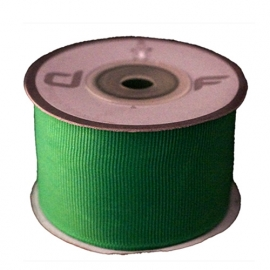 Grosgrain lint Groen 38mm-10m