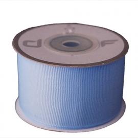 Grosgrain lint Licht-blauw 38mm-10m